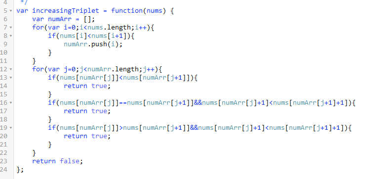 show my javascript solution,64ms - LeetCode Discuss